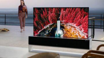Za upogljivi televizor LG RX je treba trenutno odšteti kar 74 tisoč evrov!