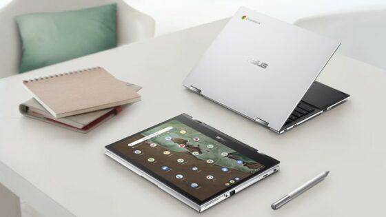 Asus Chromebook Flip CM3 se bo zlahka prilagodil vašemu načinu dela.