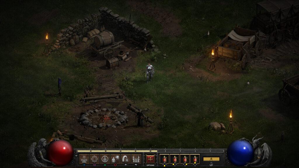 Diablo 2: Resurrected bo podpiral vaše stare shranjene položaje.
