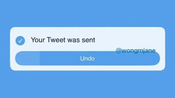 "Twitter domnevno pripravlja ""undo send"" funkcionalnost."
