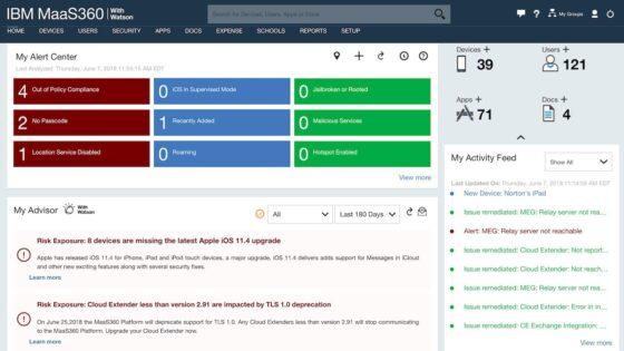 Eden in edini: IBM sistem za upravljanje končnih točk
