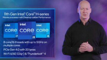 Intel bi se lahko s procesorji Tiger Lake-H brez težav kosal s procesorji konkurenčnega procesorja AMD.