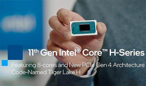 Proces Intel Core i9-11980HK naj bi poganjal igre na prenosnikih kot za stavo.
