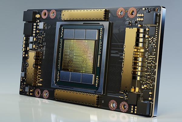 Grafično jedro Nvidia GA100 bo znatno pohitrilo rudarjenje kriptovalut.