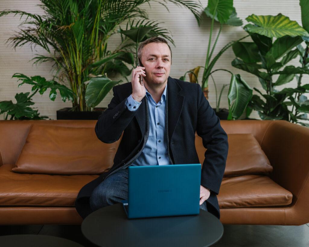 Norman Mueller, direktor marketinga in poslovnega razvoja pri Huaweiju