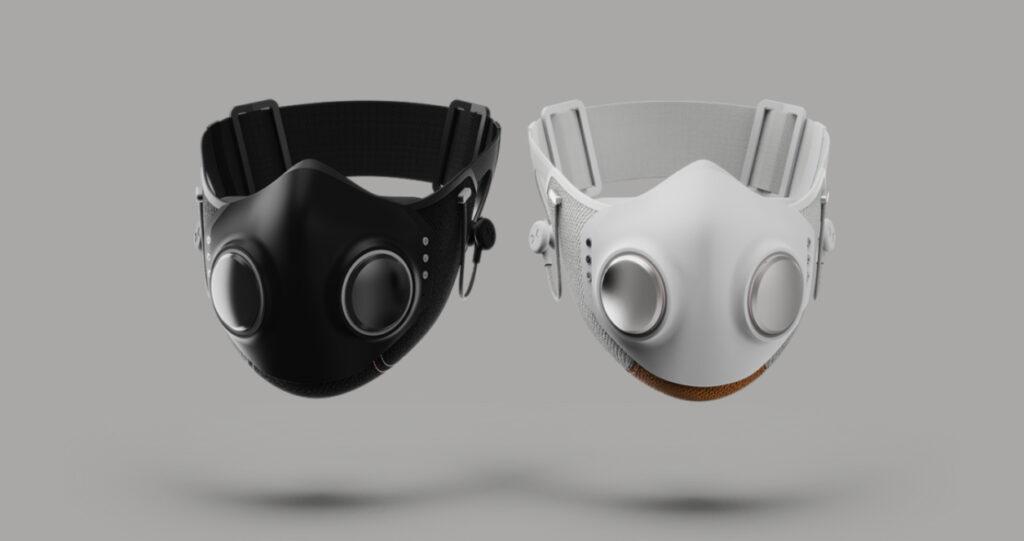 Zaščitna maska Will.i.am Xupermask je pisana na kožo mladim.