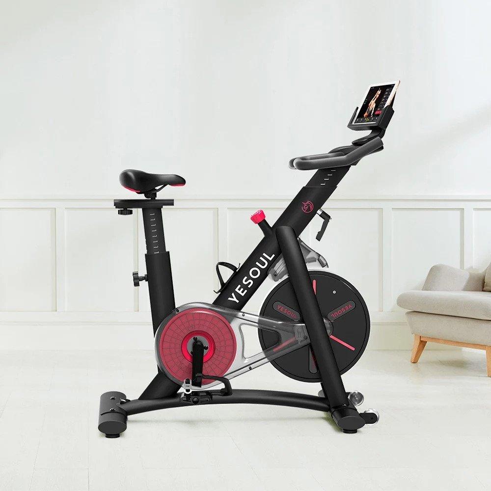 Sobno kolo YESOUL S3 ima na voljo kar 100 stopenj magnetnega upora, s katerim si lahko prilagodite intenziteto treningov.