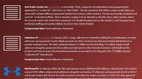 Spletna stran »Have I Been Pwned« vam bo takoj razkrila, ali je bilo vaše geslo ukradeno.