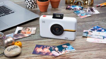 Digitalni fotoaparat s tiskalnikom Kodak Step.