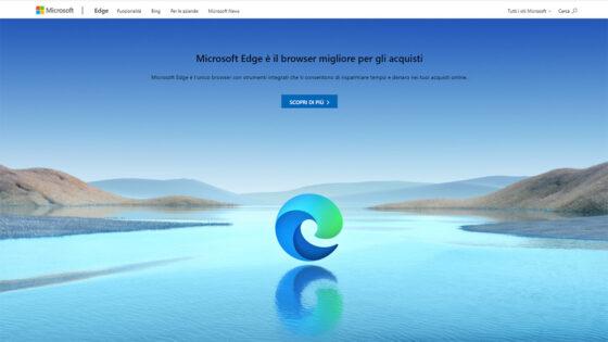 Spletni brskalnik Microsoft Edge po deležu uporabnikov trenutno zaseda tretje mesto.