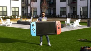 Največji Nintendo Switch na svetu je kar 650% večji od izvirnika.