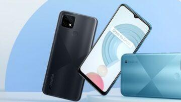 Pametni mobilni telefon Realme C21 za malo denarja ponuja veliko.