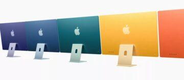 """Novi Apple iMac 24"""" je precej zmogljivejši v primerjavi z njegovim predhodnikom."""