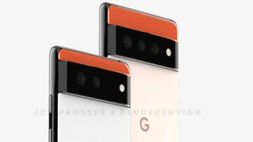 Novi Google Pixel 6 naj bi izgledal nadvse fantastično!