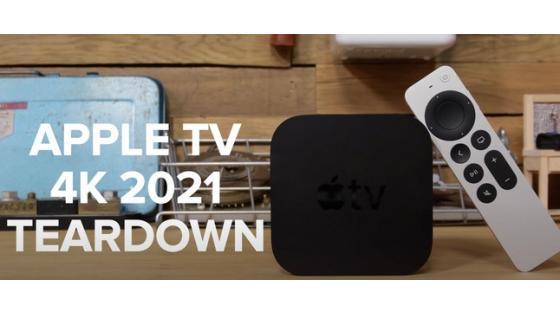 Novi Apple TV 4K 2021 je odlično popravljiv v lastni režiji.