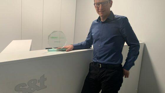 Damjan Krebelj, prodajni svetovalec na področju podatkovnih centrov pri S&T Slovenija