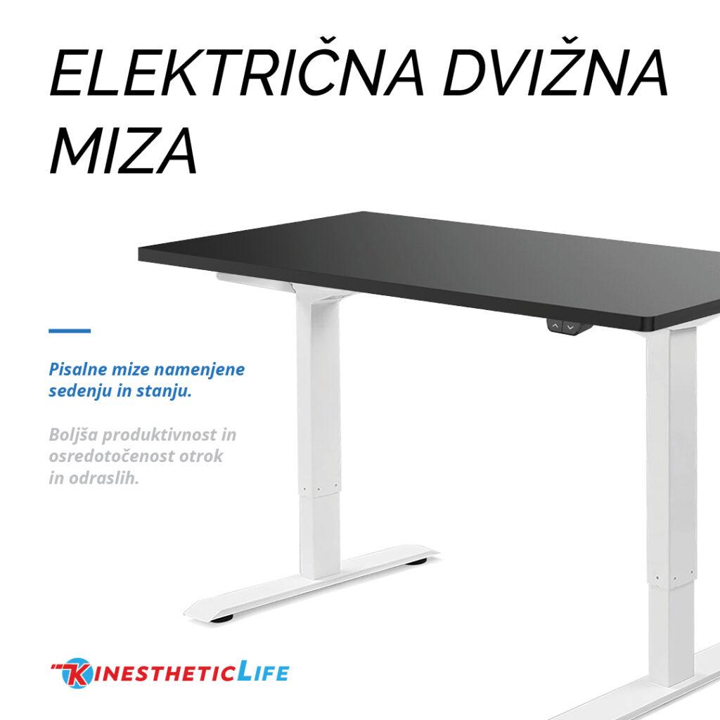 Elektricna dvizna miza - KinestheticLife