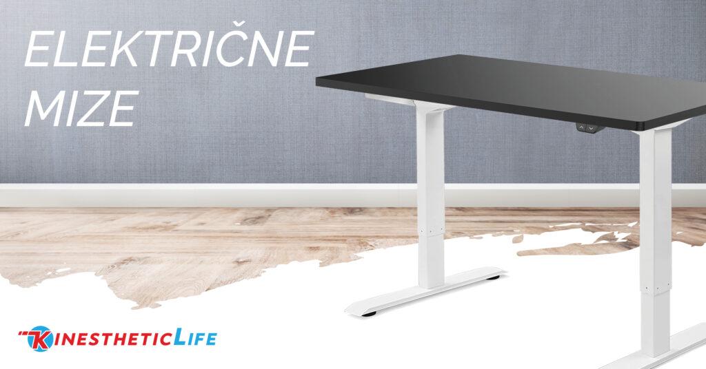 Aktivno sedenje in električne dvižne mize so odgovor na dolgotrajne posledice sedečega načina življenja.