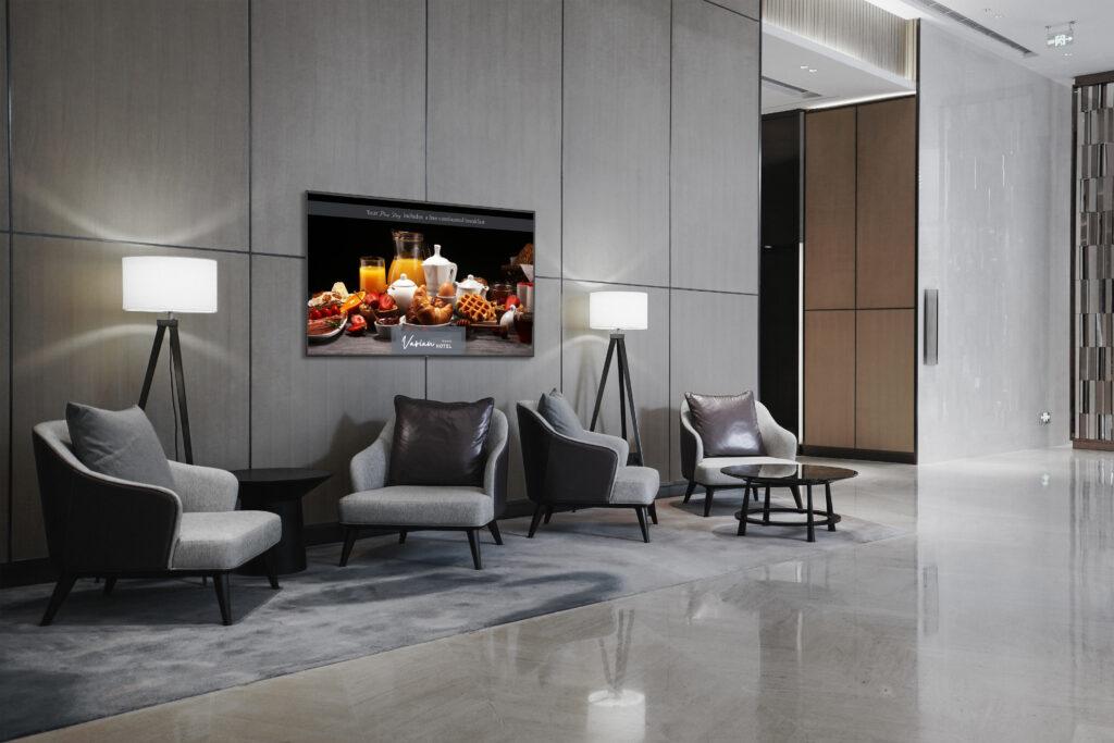 NEC_Application_Image_MA_Series_Hospitality_Lobby