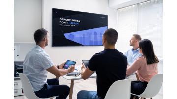 NEC komercialni zasloni MA in Pro dvigneta kakovost slike na višji nivo s široko paleto barv v 4K ločljivosti.