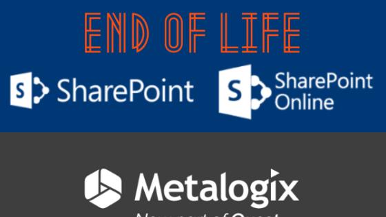 S koncem razvojne poti za SharePoint 2010 je čas, da nadgradite svojo programsko opremo.