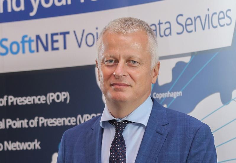 Andrej Boštjančič, direktor podjetja Softnet