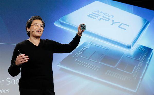 AMD za odličnimi izdelki vse bolj navdušuje tudi na področju strežniških procesorjev.