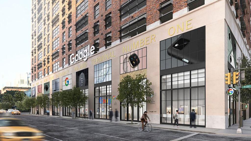 Podjetje Google bo svojo prvo fizično trgovino odprl v New Yorku.