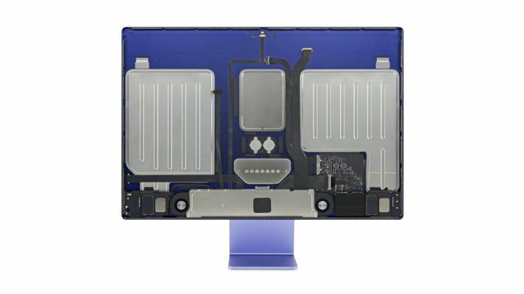 Novi osebni računalniki iMac podjetja Apple je na račun popravljivosti od 10 možnih točk prejel zgolj dve točki.