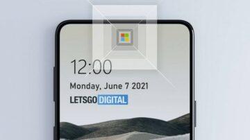 Spletna kamera pod zaslonom podjetja Microsoft naj bi bila nekaj posebnega.