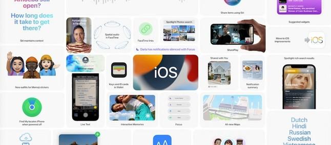 Novi iOS 15 bo na voljo za prenos kmalu!