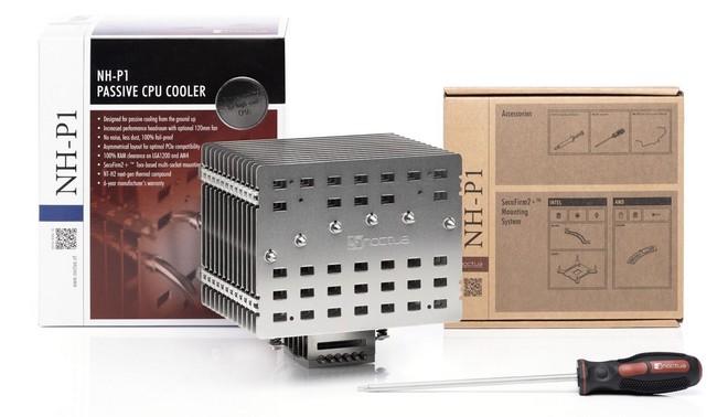 Nadvse zanimivi hladilni sistem za procesorje Noctua NH-P1 bo navdušil predvsem ljubitelje tišine!