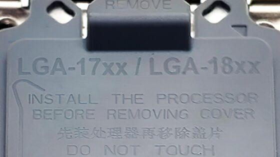 Podnožje Socket 18XX naj bi bilo namenjeno za procesorje Intel Meteor Lake.