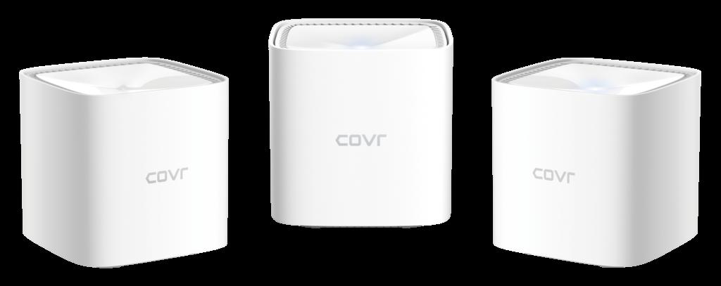Omrežni sistemi COVR AX1800 s tehnologijo Mesh in Wi-Fi 6 so odlična rešitev za potrebe sodobnega pametnega doma.
