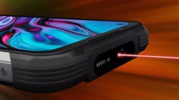 Pametni mobilni telefon Doogee S97 Pro razpolaga celo z laserskim žarkom.