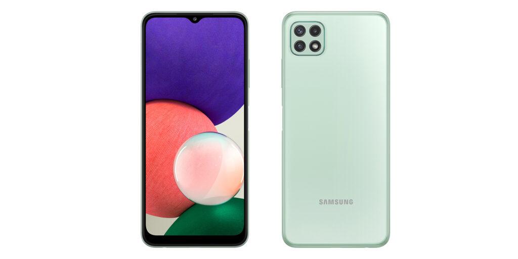 Novi Samsung Galaxy A22 5G naj bi bil na voljo že za 229 evrov.
