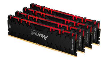Kingston Fury je nova blagovna znamka pomnilniških modulov. Kingston bo do konca leta pripravil zmogljive module DDR3, DDR4 in tudi DDR5.