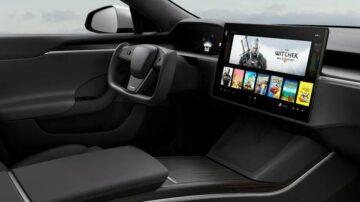 V električnih avtomobilih Tesla Model S bomo lahko igrali računalniške igre!