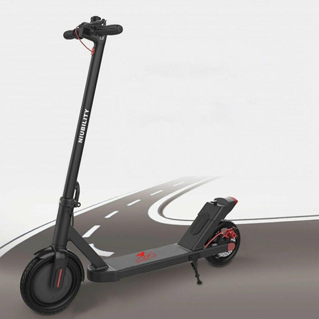 Električni skiro Niubility pooseblja vse prednosti električnih vozil. Je hiter, priročen, varčen in z delovanjem ne škoduje naravi.