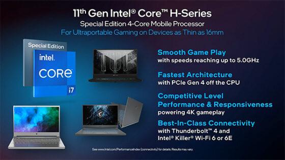 Nova procesorja Intel Tiger Lake bosta kos tudi najzahtevnejšim nalogam.