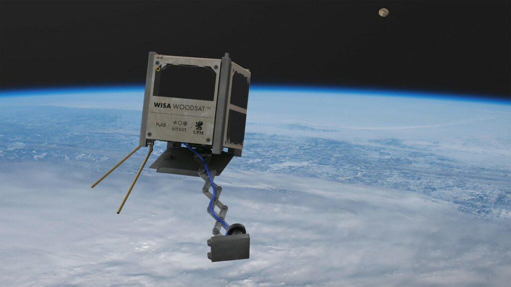 Leseni sateliti naj bi znatno zmanjšali število vesoljskih odpadkov.