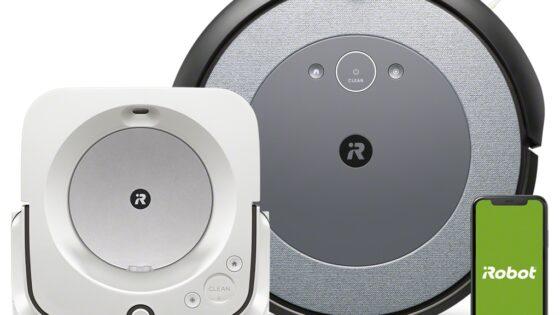 Podjetje iRobot skriva kar nekaj asov v rokavu, med njimi tudi tehnologijo Imprint® Link, ki združi moč sesalnika Roomba® i3 in robotskega pomivalca tal Braava jet® m6.