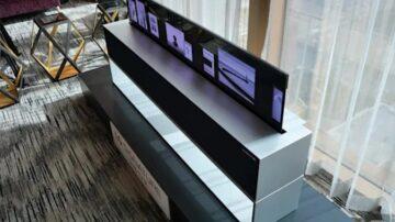 Ameriški trgovci za televizor LG OLED R TV zahtevajo kar preračunanih 84.450 evrov.