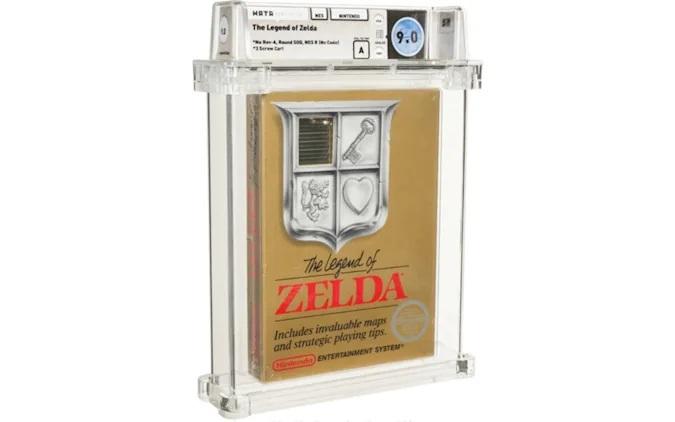 Konzolna igra »The Legend of Zelda« je bila prodana za kar preračunanih 733 tisoč evrov.