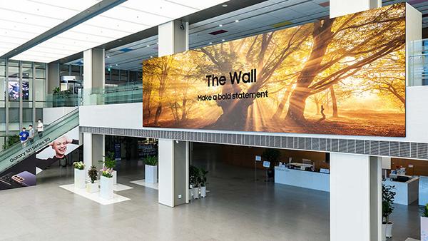Televizor Samsung The Wall se ponaša s kar 1.000 palčno diagonalo.