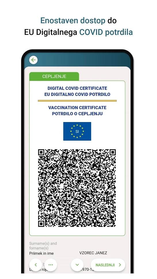 Tudi v Sloveniji smo dobili uradno aplikacijo za COVID potrdila