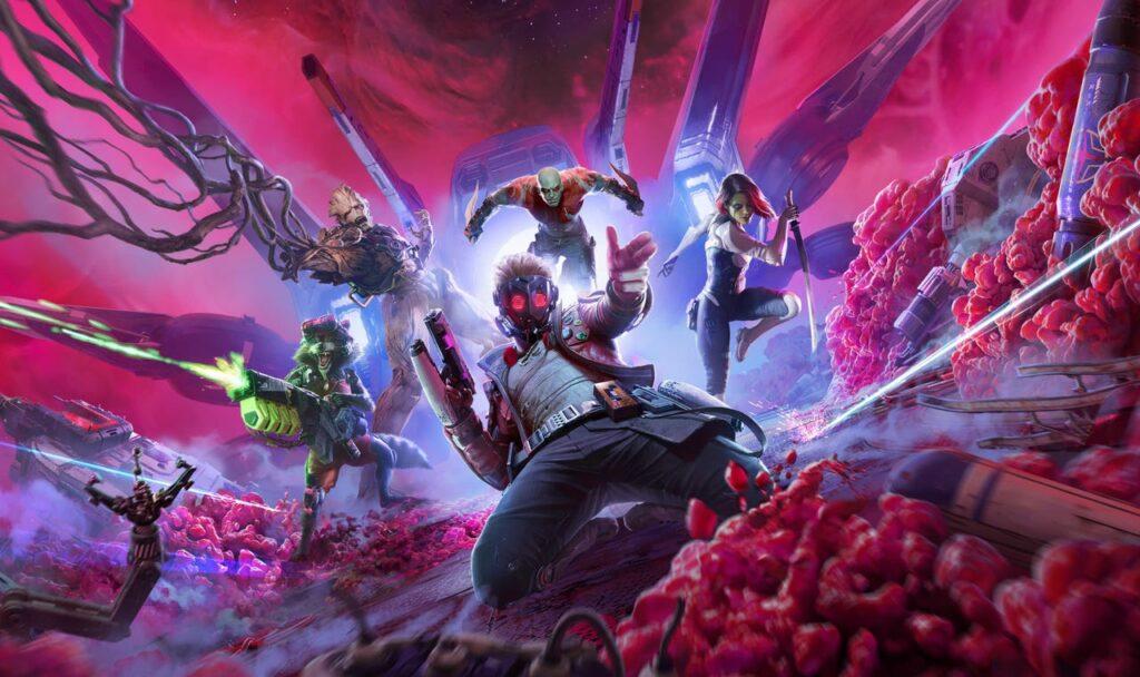 Legendarna ekipa je končno dobila svojo epsko računalniško pustolovščino, ki ji bomo lahko igrali že v tem oktobru. (Vir: Marvel/Square Enix)