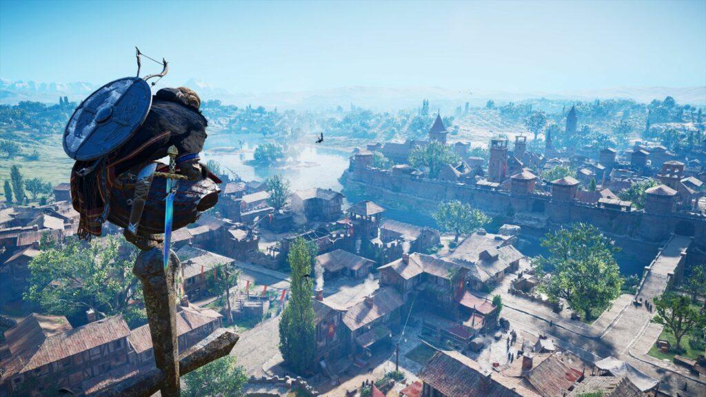 Assassin's Creed Valhalla je dobila novo epsko razširitev The Siege of Paris, ki glavnega junaka Eivorja popelje v opustošeno Francijo.