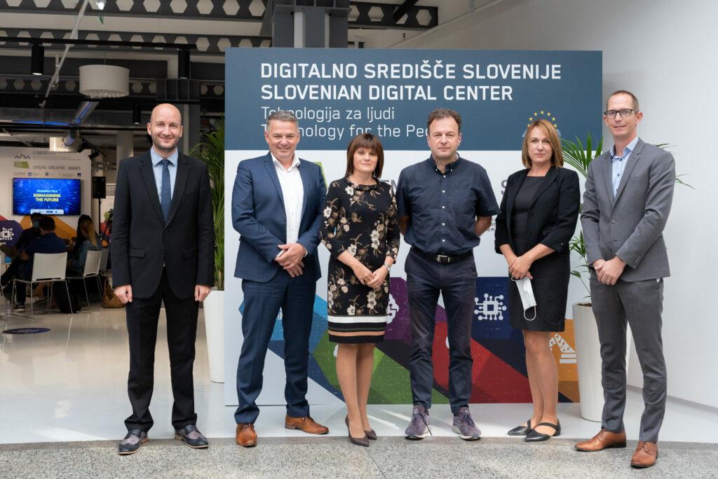 Partnerji digitalnega središča Slovenije.