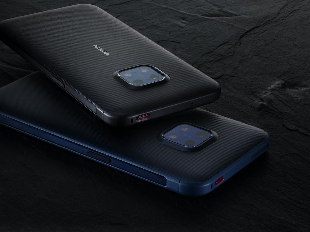 Nova Nokia XR20 je na voljo v ultra modri in granitno sivi barvi, 4/64GB in 6/128GB.